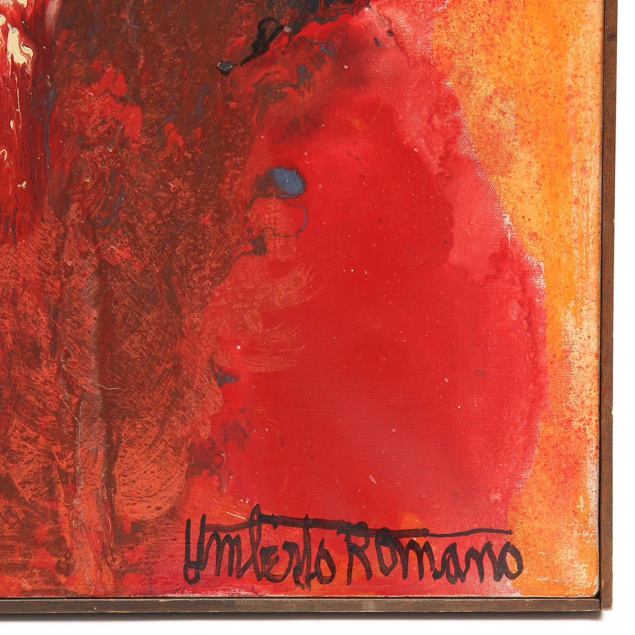 American Painting by Umberto Romano For Sale