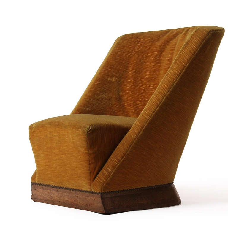 Pair of Slipper Chairs by Louis Sognot 3