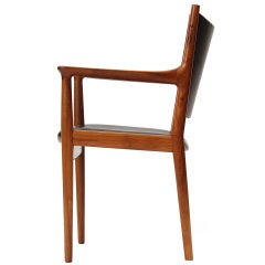 the Armchair by Hans J. Wegner