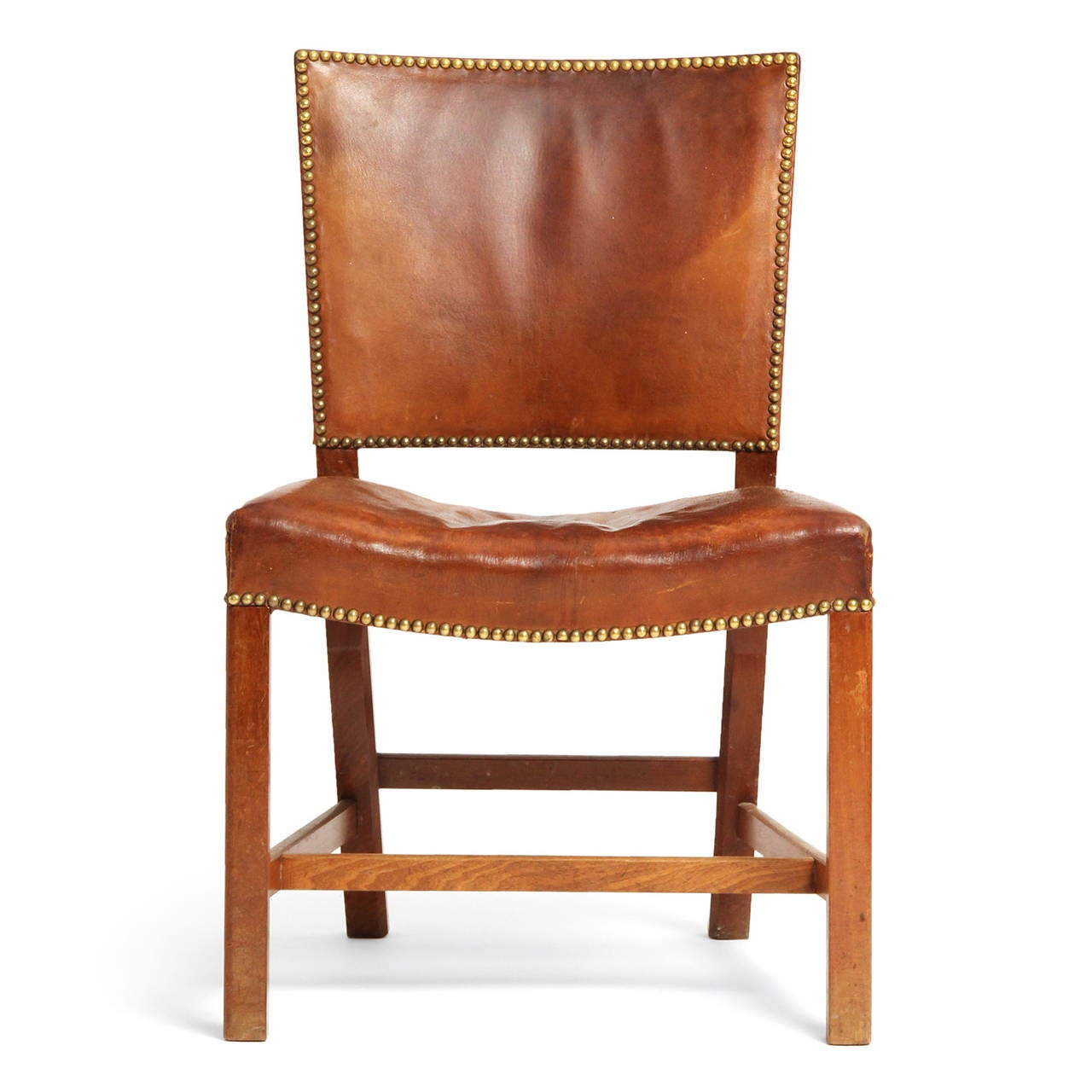 Mid 20th Century Barcelona Chair By Kaare Klint For Sale