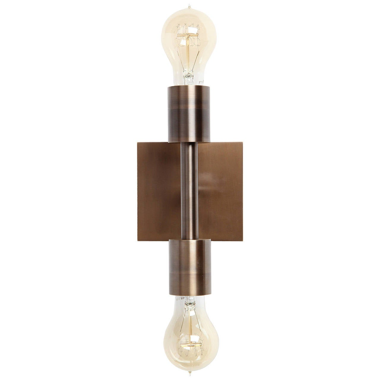 Double Wall Sconce by Wyeth For Sale