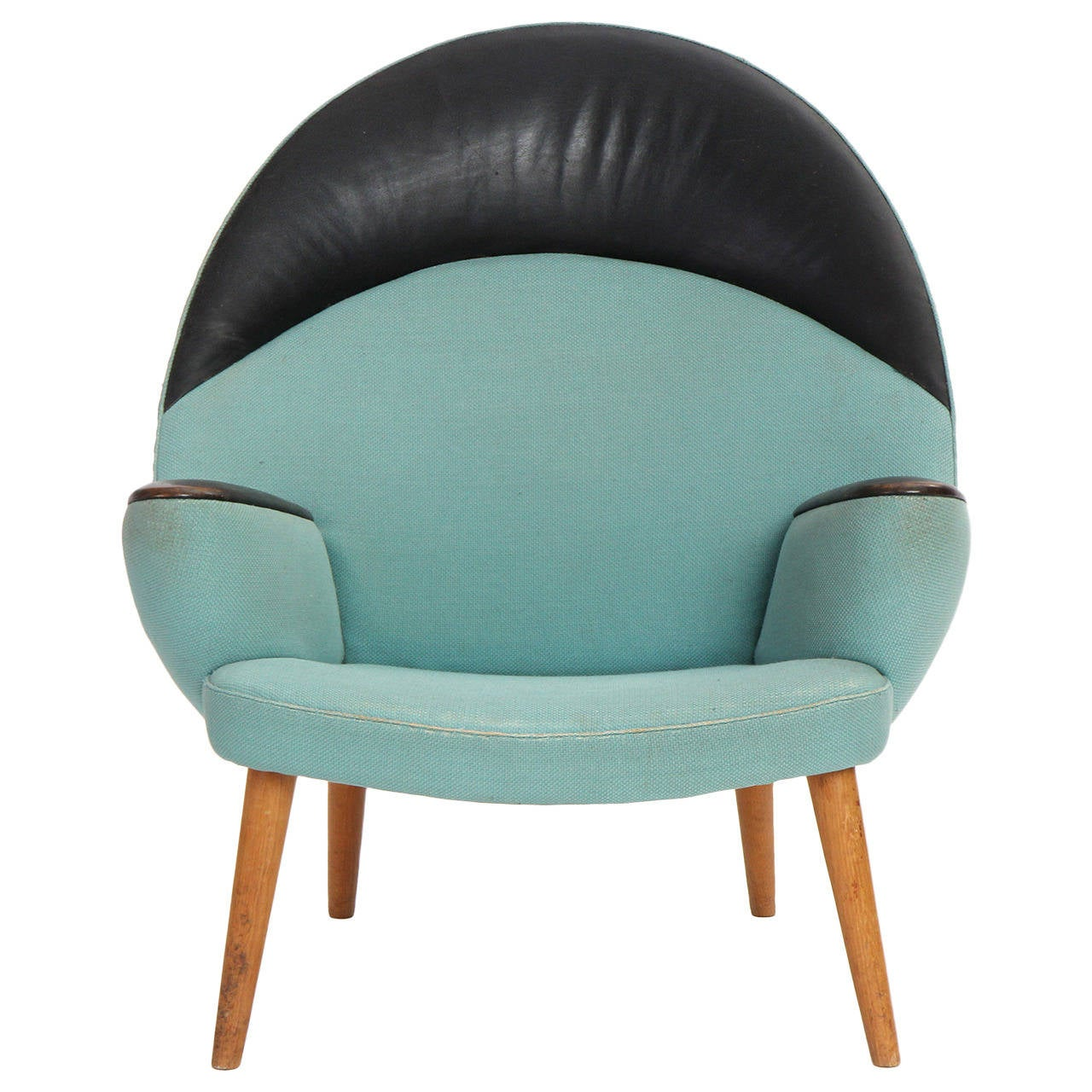 Upholstered Peacock Chair By Hans J Wegner For Sale At