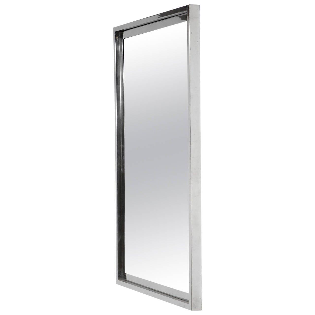 Chromed Wall Mirror