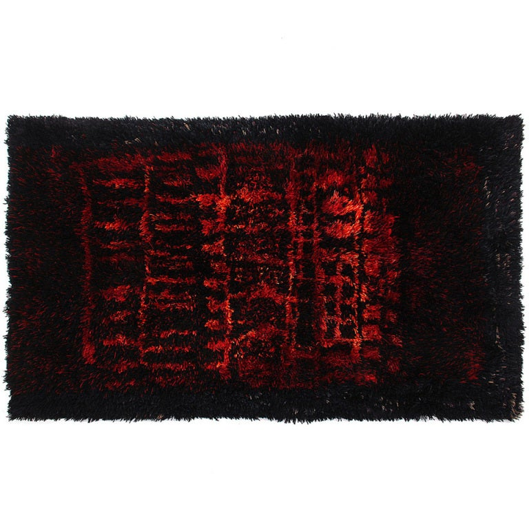 Wool Rug by Leena-Kaisa Halme For Sale