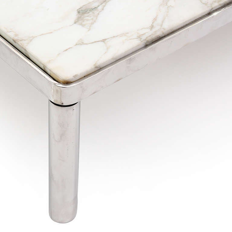 Charles Modern 47 Square Glass Top Coffee Table W: Superb Coffee Table By Charles Pfister At 1stdibs