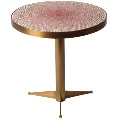 Mosaic Pedestal Table