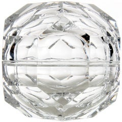 Crystal Lidded Box