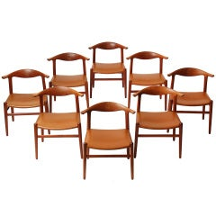 Cowhorn set by Hans J. Wegner