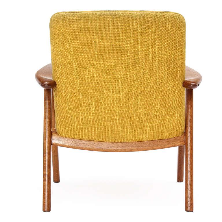 Mid-20th Century Oak Reading Chair by Hans J. Wegner For Sale