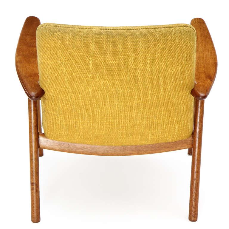 Oak Reading Chair by Hans J. Wegner For Sale 1