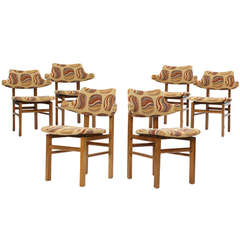 Set of Six Dining Chairs by Edward Wormley