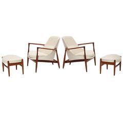 Elizabeth Chairs by Ib Kofod-Larsen
