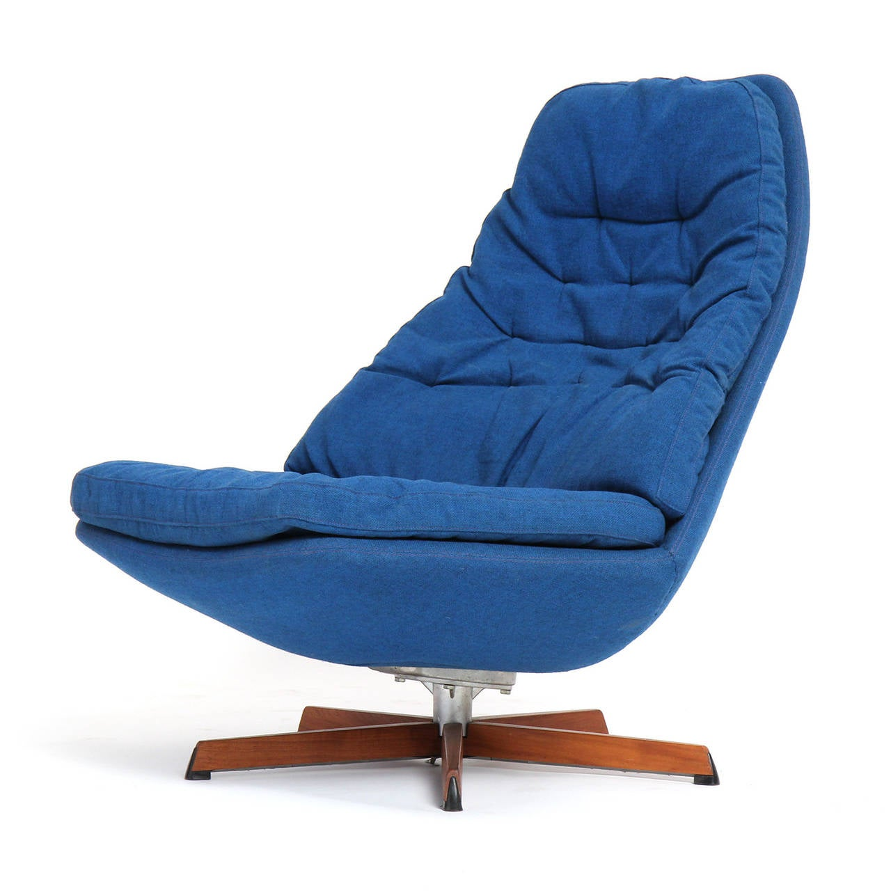 Swilveling Lounge Chair by Henry Klein For Sale at 1stdibs