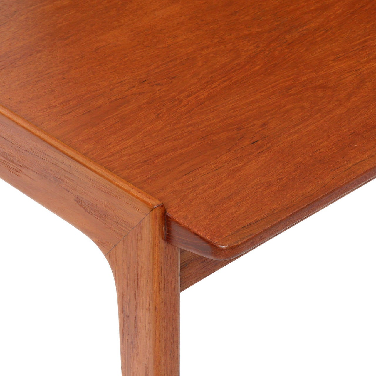 Rosewood Teak Writing Desk by Tove & Edvard Kindt-Larsen For Sale