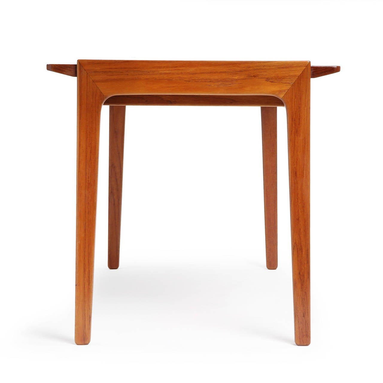 Teak Writing Desk by Tove & Edvard Kindt-Larsen In Good Condition For Sale In New York, NY
