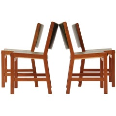 Set of Four Teak Dining Chairs by Hans Wegner