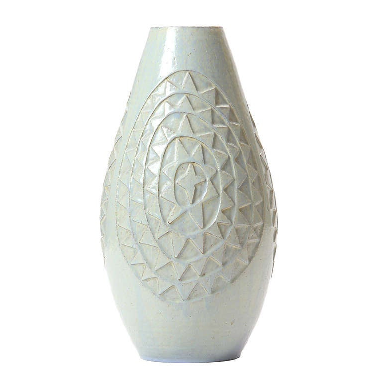 diamond pattern vase by kare berven fjeldsaa for sale at. Black Bedroom Furniture Sets. Home Design Ideas