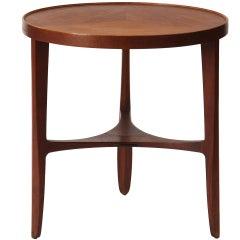 Walnut Side Table by Edward Wormley