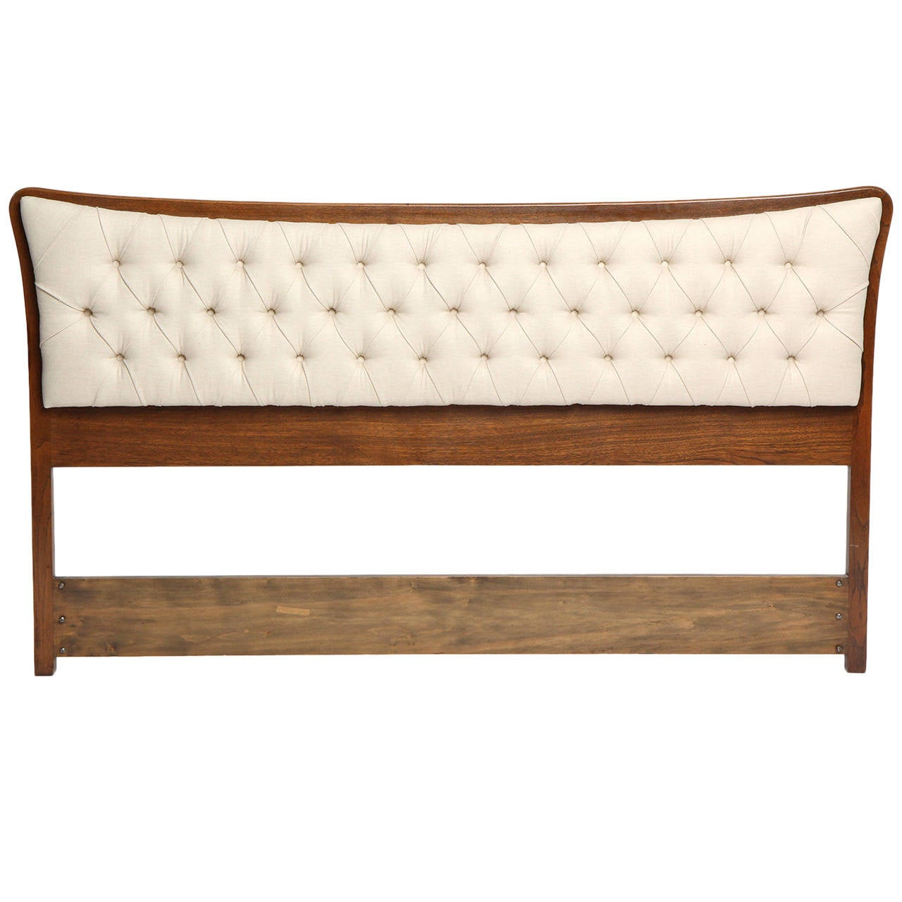 Tufted Headboard by Edward Wormley