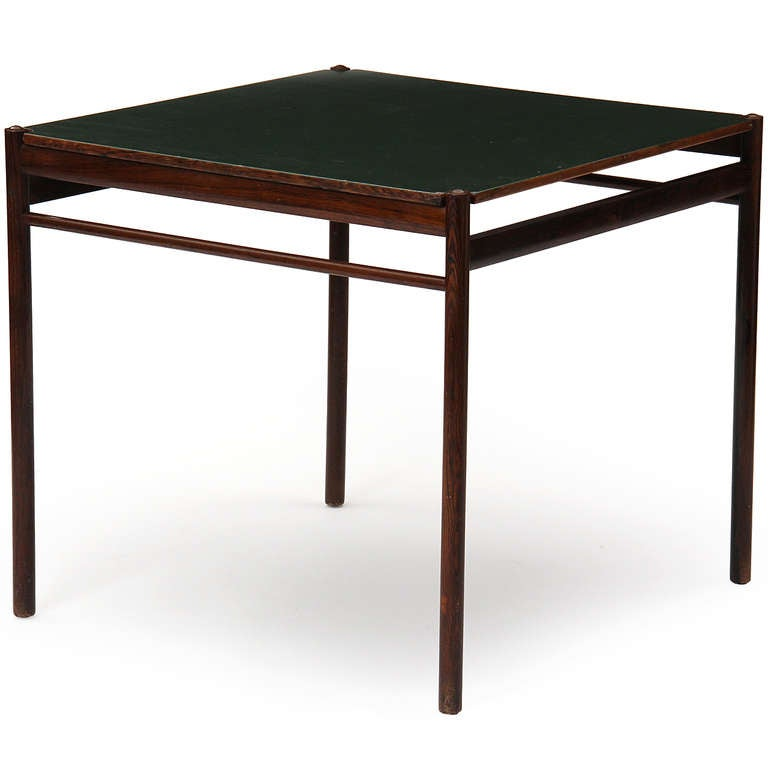 Rosewood game table by ole wanscher for sale at 1stdibs for 13 in 1 game table