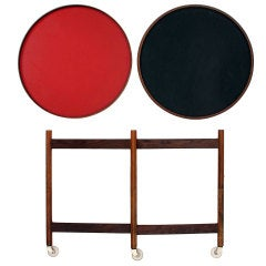 Collapsable Serving Table by Hans Bolling