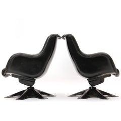 Lounge Chairs By Yrjo Kukkapuro