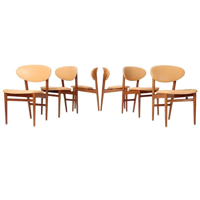 Set of Six Teak Dining Chairs by Jacob Kjaer