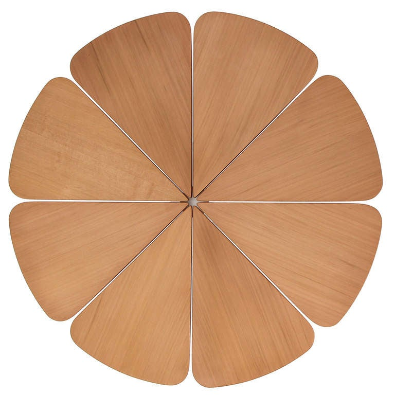 Enameled 'Petal' Dining Table by Richard Schultz for Knoll For Sale