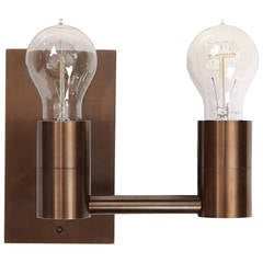 Double Arm Wall Sconce by Wyeth