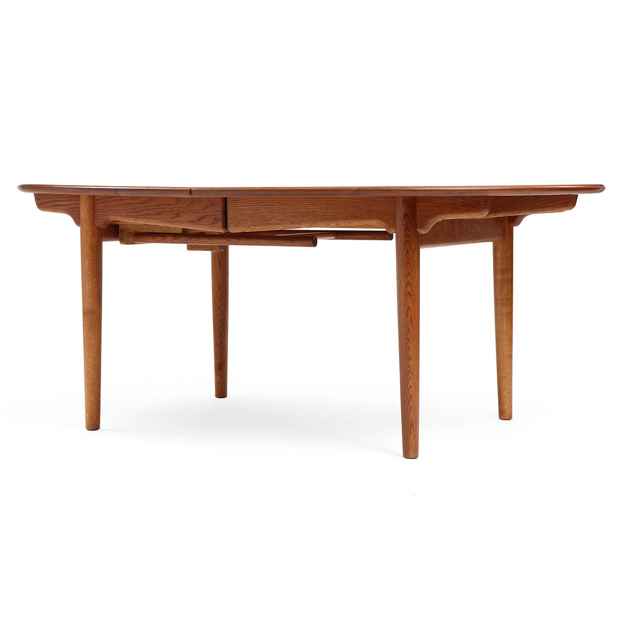 Danish Oval Table by Hans J. Wegner For Sale