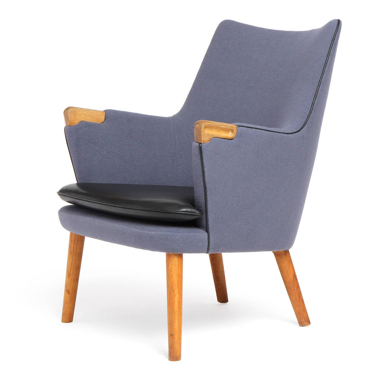 Lounge Chair By Hans J Wegner For Sale At 1stdibs