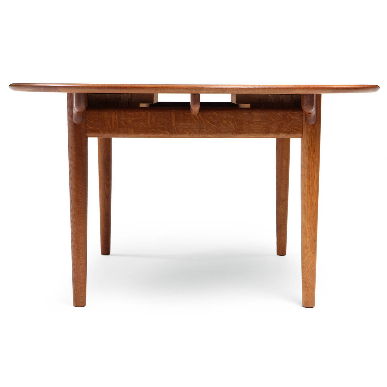 Mid-20th Century Oval Table by Hans J. Wegner For Sale