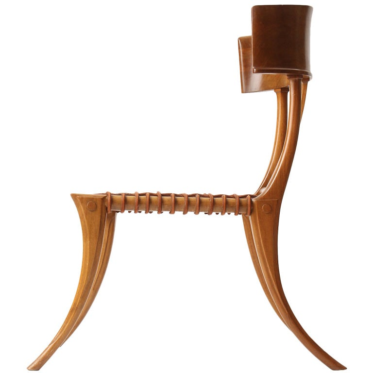 klismos chair by t h robsjohn gibbings at 1stdibs