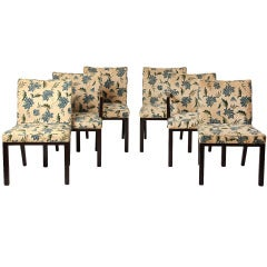 Set of Six #6337 Dining Chairs by Edward Wormley