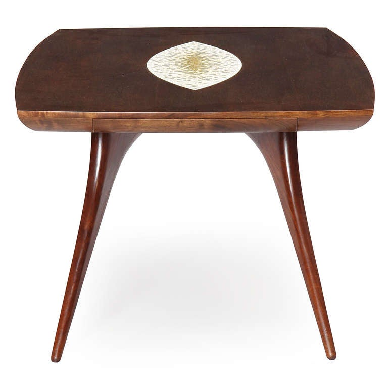 Dramatic Splayed Leg Table by Vladimir Kagan For Sale at  : 1l from www.1stdibs.com size 768 x 768 jpeg 33kB