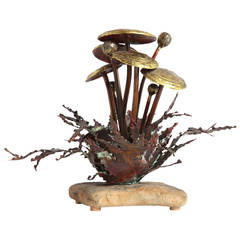 Mushroom Sculpture by John Steck