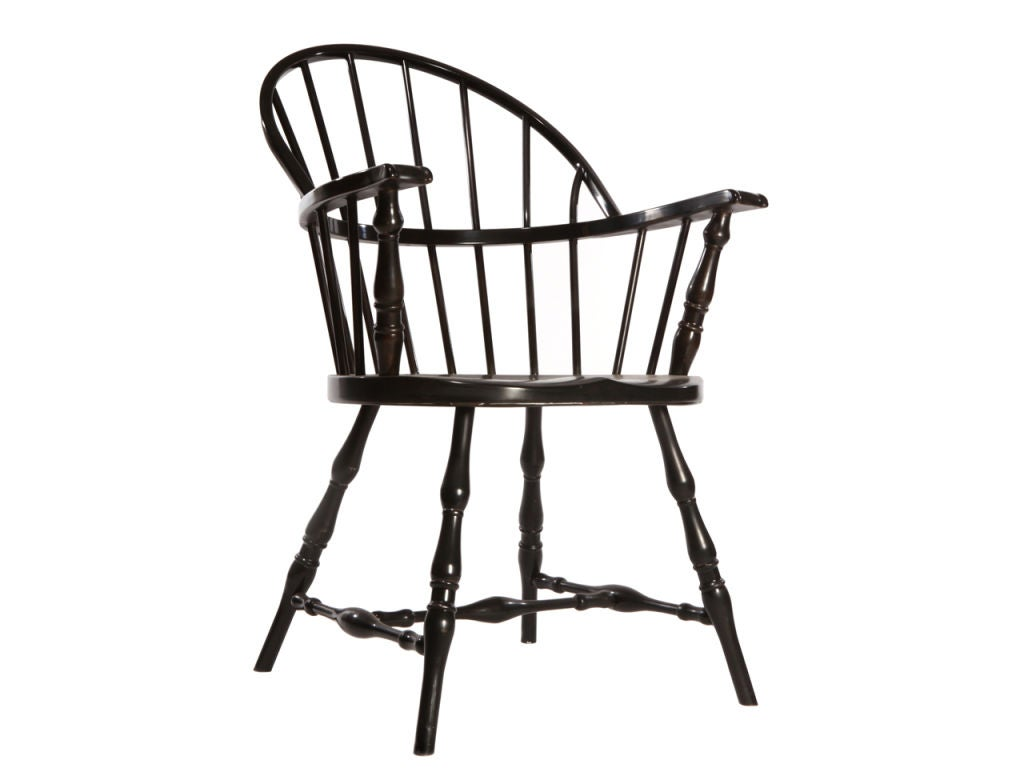 steel windsor armchair by simmons at 1stdibs