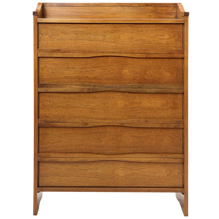 Tall Chest of Drawers by George Nakashima