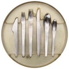 Stainless Flatware by Arne Jacobsen