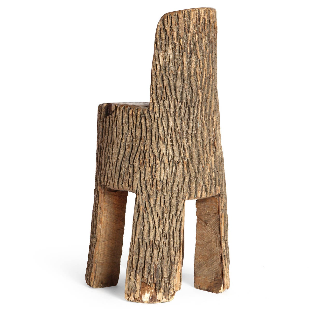 Tree Trunk Chair For Sale At 1stdibs