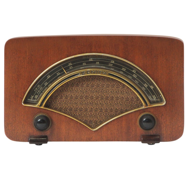 Zenith Radio By Charles And Ray Eames 1