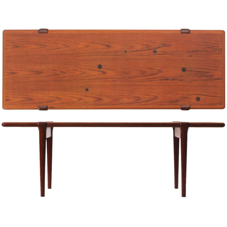 Teak And Rosewood Low Table For Sale At 1stdibs