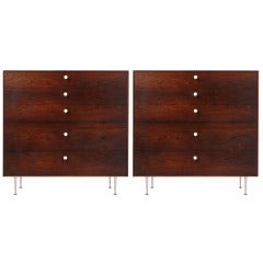Thin Edge Chests of Drawers by George Nelson