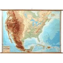 Three Dimensional Wall Map
