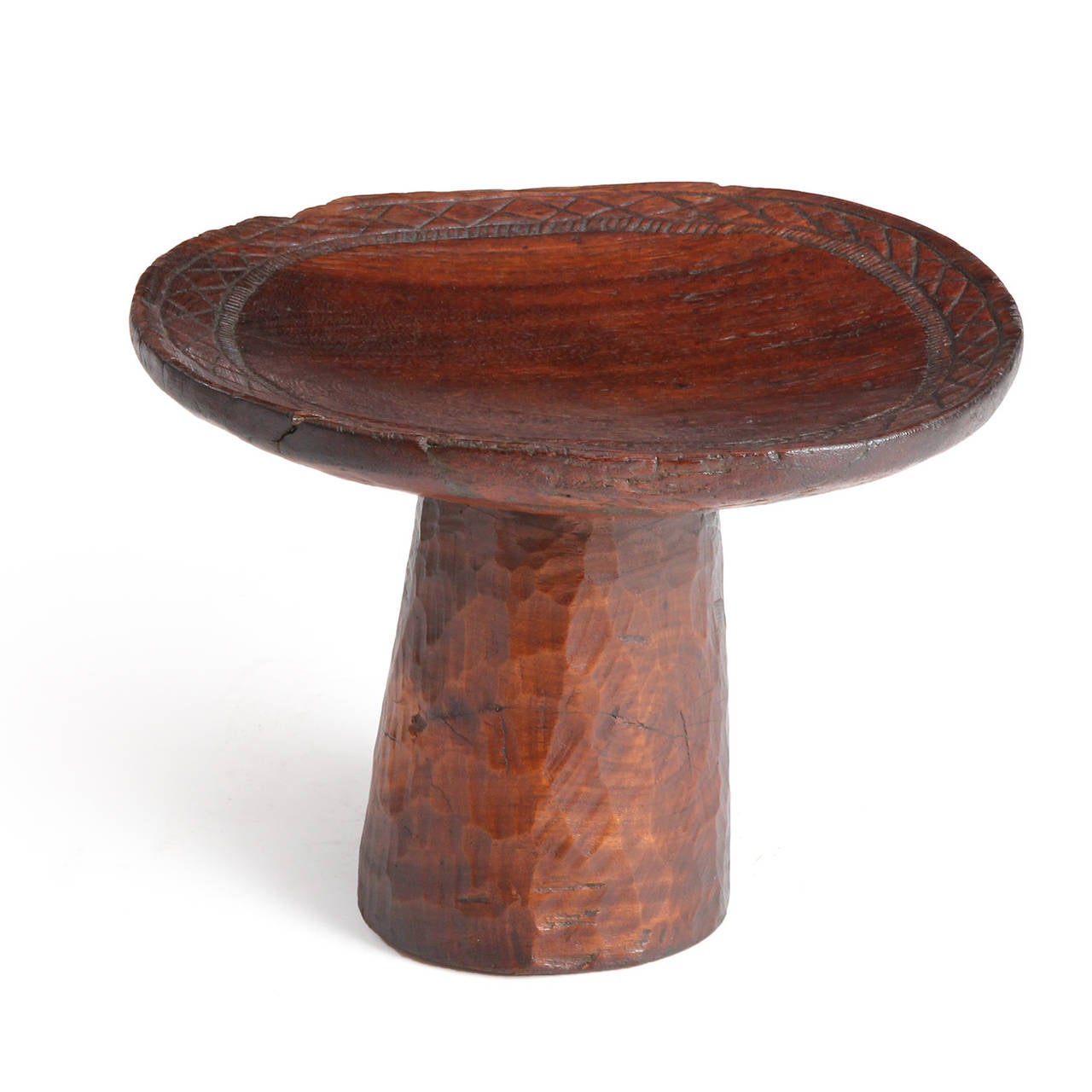 Hardwood Senufo Carved Tribal Table For Sale