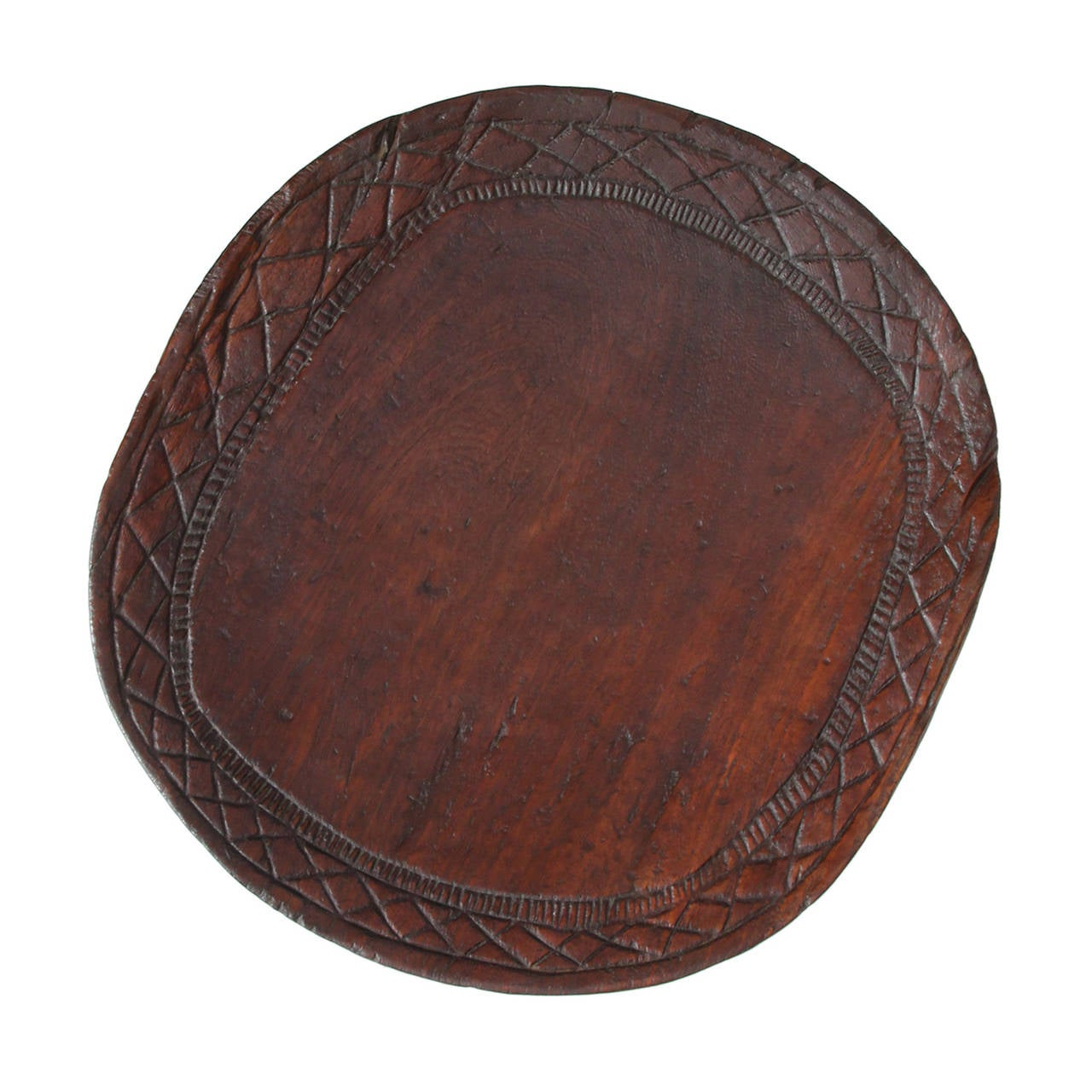 Senufo Carved Tribal Table For Sale 1