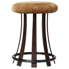 Vanity Stool by Edward Wormley