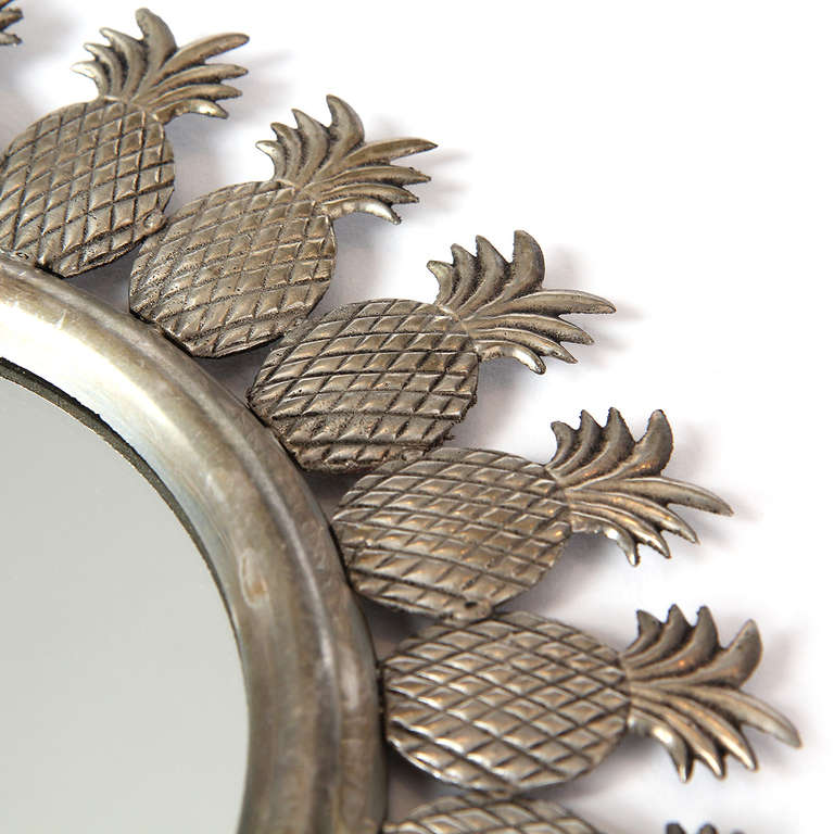 Pineapple Wall Mirror At 1stdibs