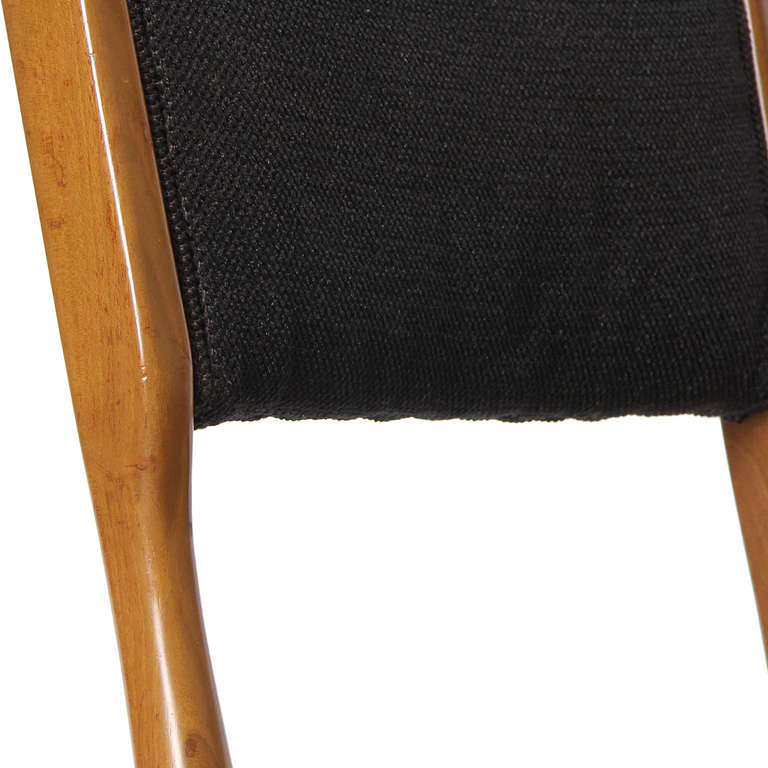 Set of Four Dining Chairs by Carlo di Carli For Sale 2