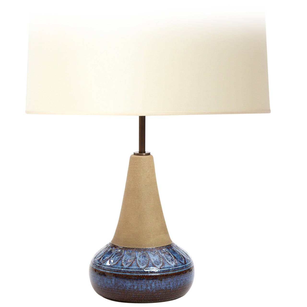 Ceramic Table Lamp By Soholm At 1stdibs